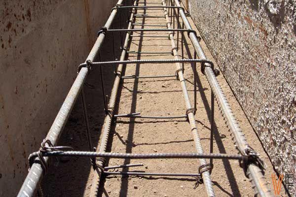 Виды армирование бетона толщина стены дома керамзитобетон