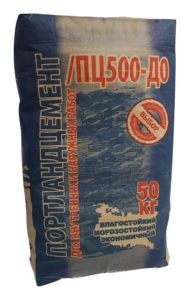 Цемент в мешках 50 кг